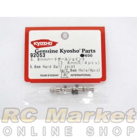 KYOSHO 92053 5.8mm Hard Ball Joint (w/2.8mm Hole) (4)