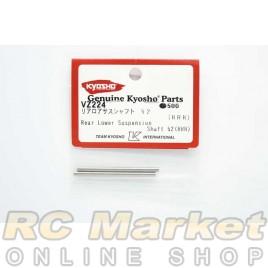 KYOSHO VZ224 Rear Lower Suspension Shaft 52 (RRR)