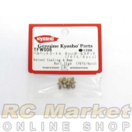KYOSHO TFW006 Velvet Coating 4.8mm Ball Stad (7075) (4)