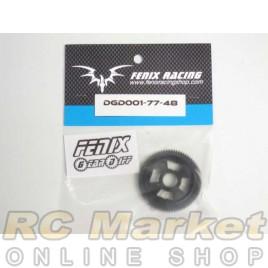 FENIX DGD001-77-48 Gear Diff - Spur Gear 77- 48dp