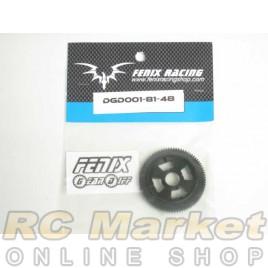 FENIX DGD001-81-48 Gear Diff - Spur Gear 81- 48dp