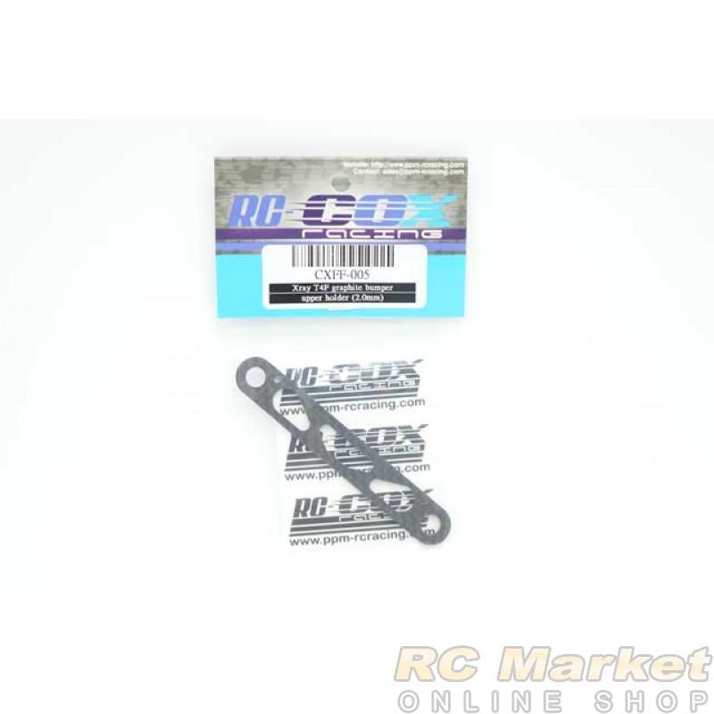 RC-COX CXFF-005 Graphite Bumper Upper Holder (2.0mm) (for Xray T4F)