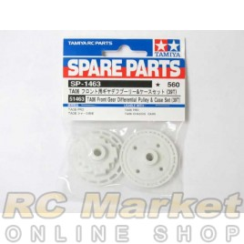 TAMIYA 51463 TA06 Front Gear Differential Pulley & Case Set (39T)