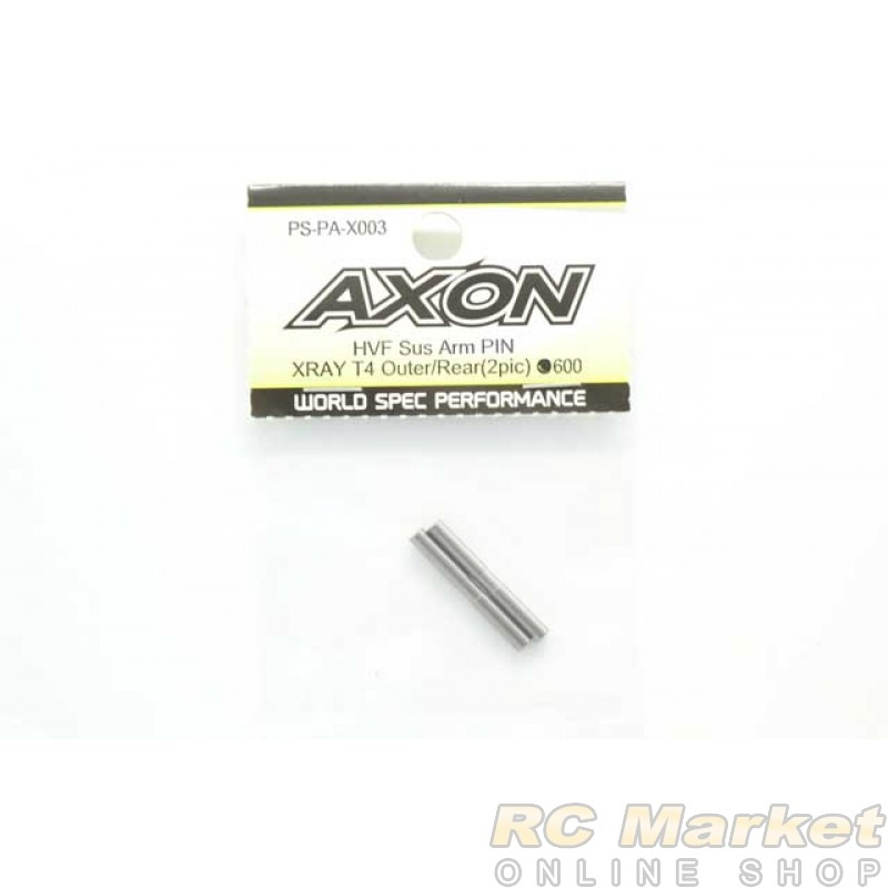 AXON PS-PA-X003 HVF Low Friction Sus Arm PIN XRAY T4 Outer/Rear(2pic)