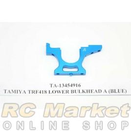 TAMIYA 13454916 TRF418 Lower Bulkhead A (Blue)