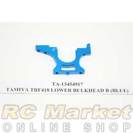 TAMIYA 13454917 TRF418 Lower Bulkhead B (Blue)