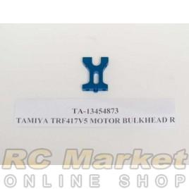 TAMIYA 13454873 TRF417V5 Motor Bulkhead R