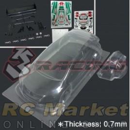 3RACING LBD-CIVICMK9/V2/HK Civic MK9 Body (1pc) 0.7mm