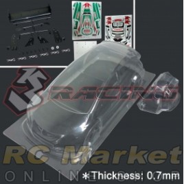 3RACING LBD-CIVICMK9/V2/HK Civic MK9 Body (1pc) 0.7mm