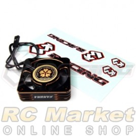 3RACING 3RAC-FAN11 Alum. Case High Speed Cooling Fan 7.2V 40 x 40 x10mm (Max.8.4V)