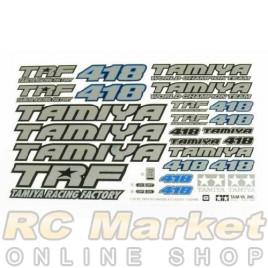 TAMIYA 11424480 TRF418 Sticker