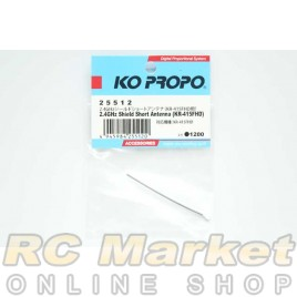 KO PROPO 25512 2.4GHz Shield Short Antenna (KR-415FHD)