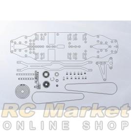 ARROWMAX 910002 AM Medius Xray T4 MID Conversion Kit (Chassis 7075) (Pre-order)