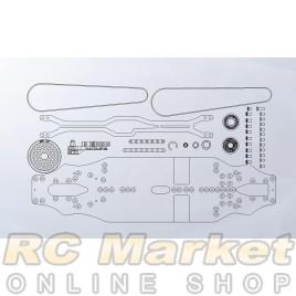 ARROWMAX 910003 AM Medius Yokomo BD9 MID Conversion Kit (Pre-order)