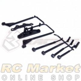 3RACING SAK-MG19 M4 Bumper Set for KIT-MINI MG