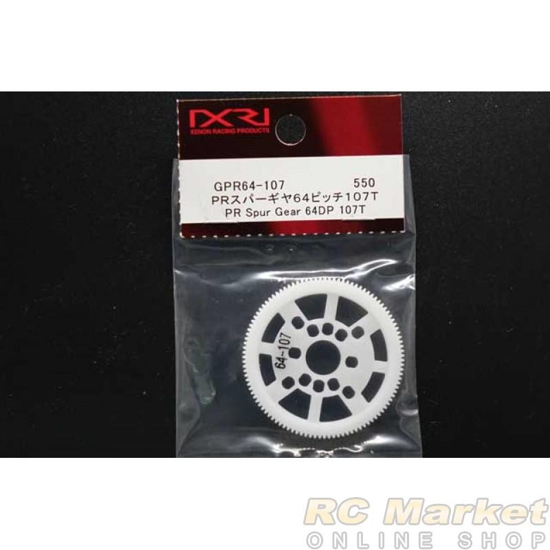 XENON GPR64-107 PR Spur Gear 64P 107T