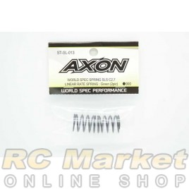 AXON ST-SL-013 World Spec Spring SLS C2.7 Linear Rate Spring : Green (2pic)