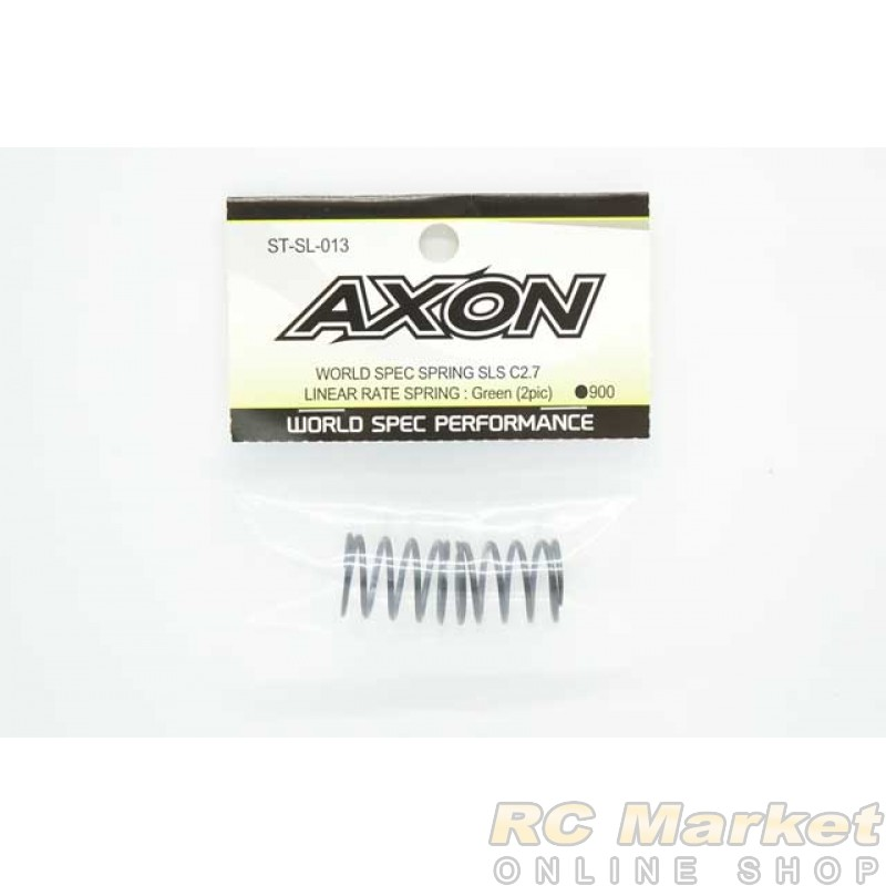 AXON ST-SL-013 World Spec Spring SLS C2.7 : Green (2pic)