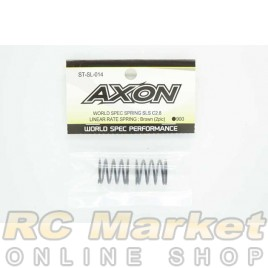 AXON ST-SL-014 World Spec Spring SLS C2.8 Linear Rate Spring : Brown (2Pic)