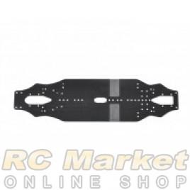ARROWMAX 910018 AM Medius Yokomo BD9 MID Chassis Carbon 2.25mm