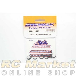ARROWMAX 910034 AM Medius Pully Midshaft C-Clip (10)