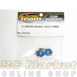 ASSOCIATED 91610 Clamping Wheel Hex, 7.0mm