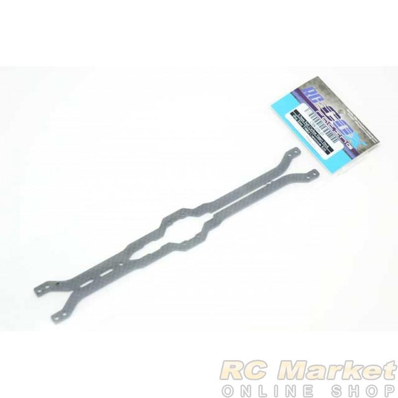 RC-COX CXR-036-07 2.2mm Full Carbon Upper Deck (For Xray T4 Mid Conversion Kit)
