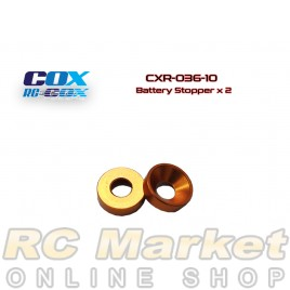 RC-COX CXR-036-10 Battery Stopper x 2