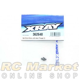 XRAY 362648 Ball End 4.9mm with Thread 4mm (2)