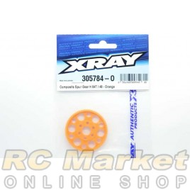 XRAY 305784-O Composite Spur Gear H 84T / 48 - Orange