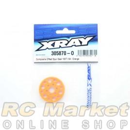 XRAY 305870-O Composite Offset Spur Gear 100T / 64 - Orange