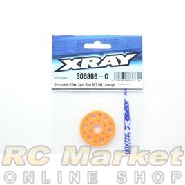 XRAY 305866-O Composite Offset Spur Gear 96T / 64 - Orange