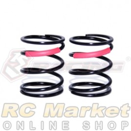 3RACING SAK-A538/RE M4 PRO M1.4 x 14 x 20.5 - 4.75T C3.10 - Red (2 pcs)