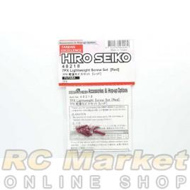 HIRO SEIKO 48218 7PX Lightweight Screw Set (RED)