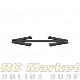 SERPENT 905113 Front Suspension Plate Carbon 988e Pan