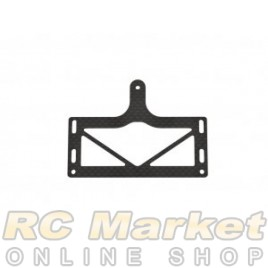 SERPENT 905118 Pod Plate RR Carbon 988e Pan