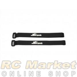 SERPENT 905122 Velcro Batterystrap Set 988e Pan (2)