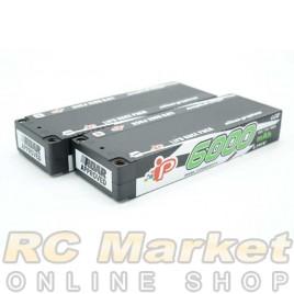INTELLECT CC2S6000HV4 Lipo 7.6V 6000mAh Stick 120C LiHV x 2Pack