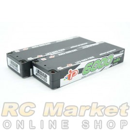 INTELLECT CC2S6000HV4 Lipo 7.6V 6000mAh Stick 120C LiHV x 2Pack
