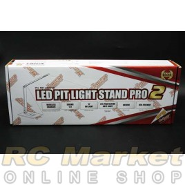 MUCH MORE MR-LEDP2K LED Pit Light Stand Pro 2 Black  [Wireless charging]