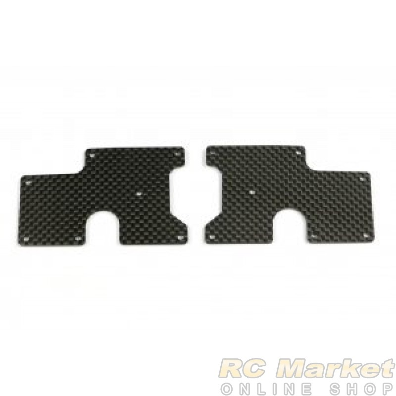 SERPENT 600890 Wishbone Insert Carbon RR Upper SRX8 (2)