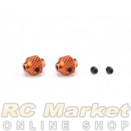 SERPENT 600963 Brake Adjust Collar Alu Orange (2) SRX8