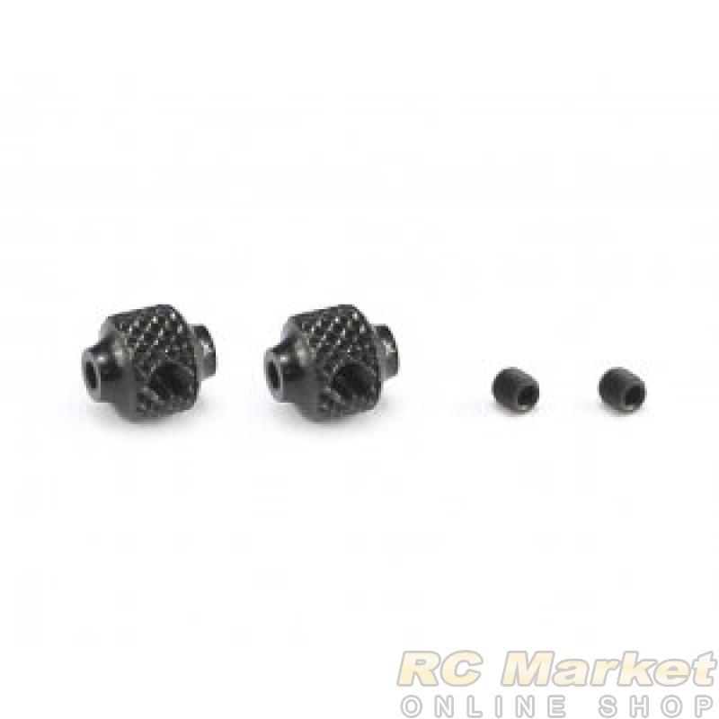 SERPENT 600964 Brake Adjust Collar Alu Black (2) SRX8