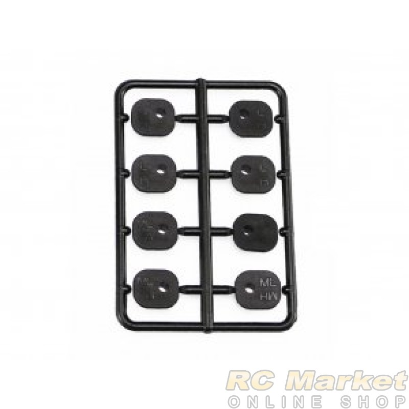 SERPENT 600987 Inserts for Upright Alu V2 (8) SRX8