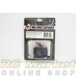 3RACING 3RAC-MHS009/BU Aluminium Brushless 540 Motor Heatsink W/Cooling Fan - Blue Color