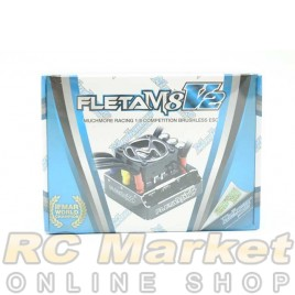 MUCH MORE ME-FLM8V2 FLETA M8 V2 Competition 1/8th Scale Brushless ESC 180A Black
