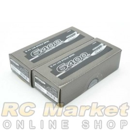 NOSRAM 999557 HV LCG Stock Spec. Graphene-3 6400mAhHV-LiPo 7.6V 130C/65C Hardcase x 2pack