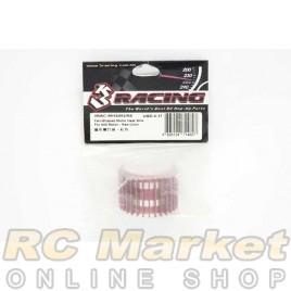 3RACING 3RAC-MHS003/RE Motor Heat Sink For 540 Motor (Fan-Shaped) - Red
