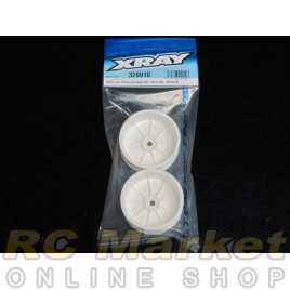 XRAY 329910 2WD Front Wheel Aerodisk With 12Mm Hex - White (2)