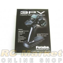 FUTABA 3PV-R314SB 3PV 3-Channel 2.4GHz T-FHSS Telemetry System + R314SB
